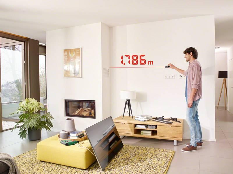 Bosch Entfernungsmesser Plr 40 C : Bosch home and garden zamo iii basis premium laser