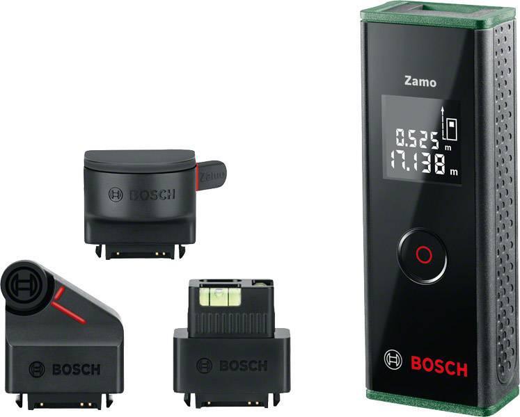 Laser Entfernungsmesser Ultraschall : Bosch home and garden zamo set premium laser entfernungsmesser