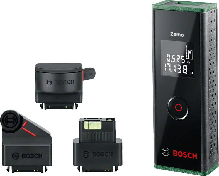 Ultraschall Entfernungsmesser Genauigkeit : Bosch home and garden zamo set premium laser entfernungsmesser