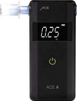 Image of ACE A Alkoholtester Schwarz 0 bis 4 ‰ Verschiedene Einheiten anzeigbar, Alarm, inkl. Display, Countdown-Funktion