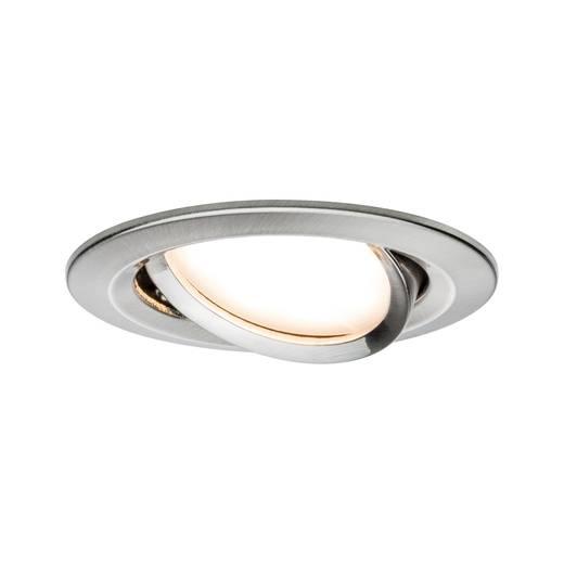Paulmann 93446 Nova Einbauleuchte LED LED 6.5 W Edelstahl (gebürstet)