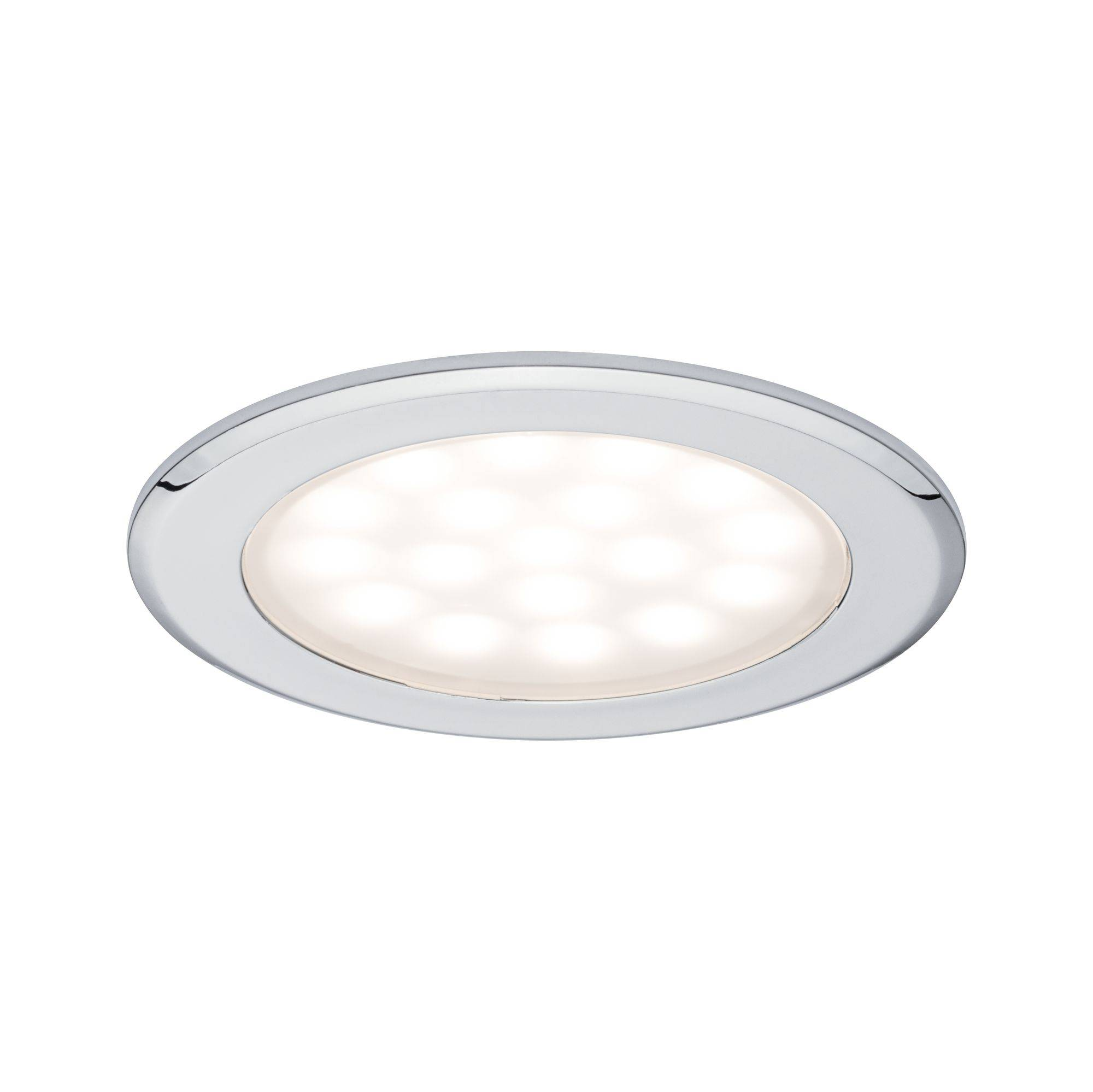 Details zu LED Boden Leuchten Strahler 3er Set IP64 Wand Boden Terrassen Lampe KALT WEISS