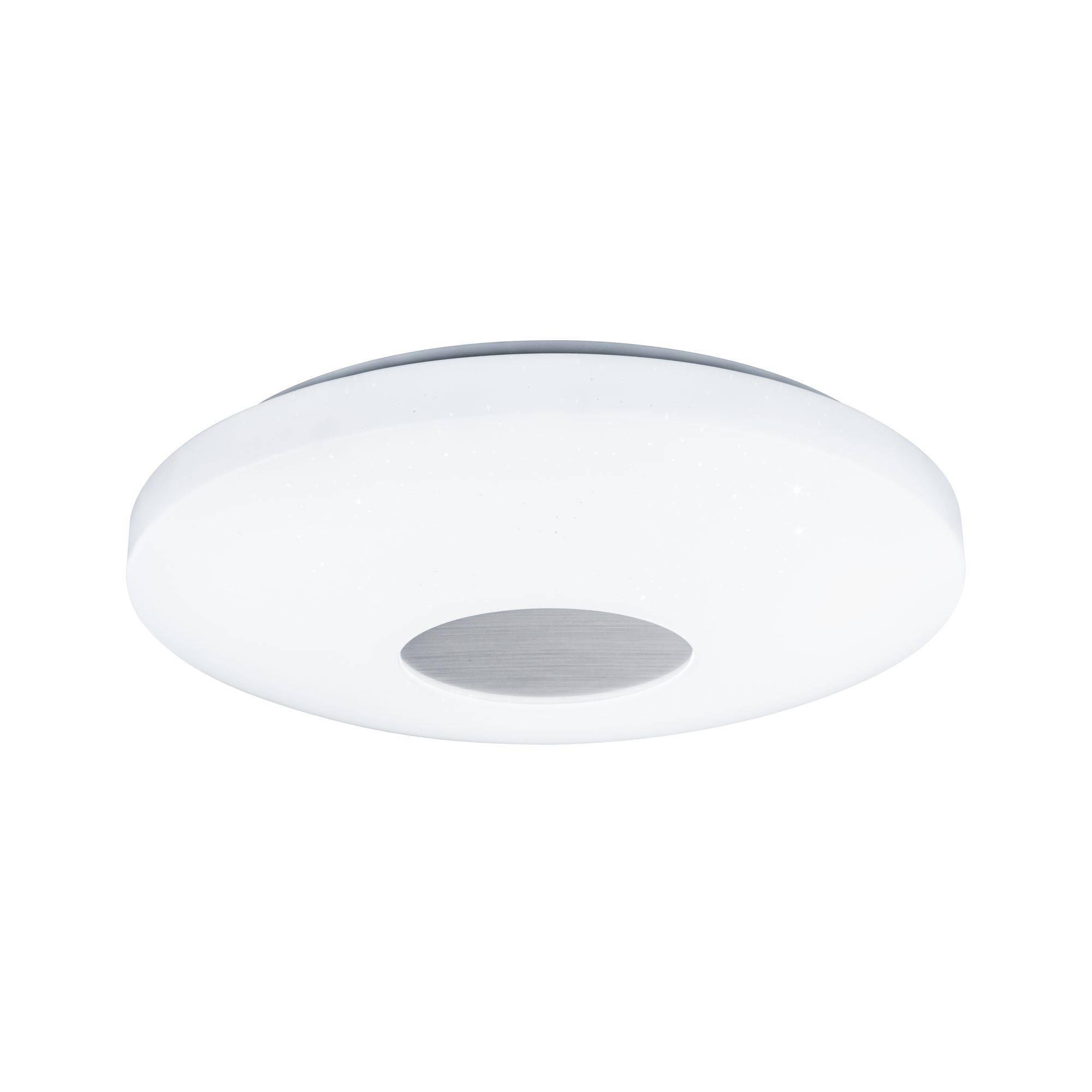 Paulmann Costella 70901 LED Deckenleuchte Weiß 16 W Leuchtfarbe einstellbar, Mit Sterneneffekt