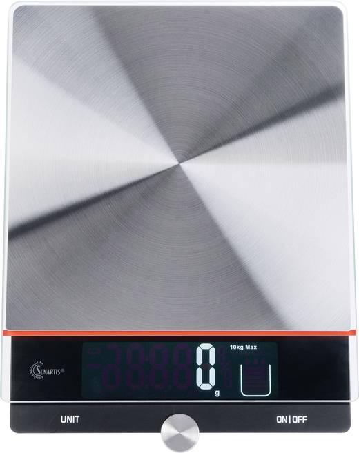 Mingle Me315 Digitale Kuchenwaage Wagebereich Max 10 Kg Edelstahl