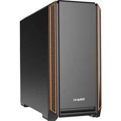 PC skrinka midi tower BeQuiet Silent Base 601, čierna, oranžová
