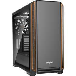 PC skrinka midi tower BeQuiet Silent Base 601, oranžová, čierna