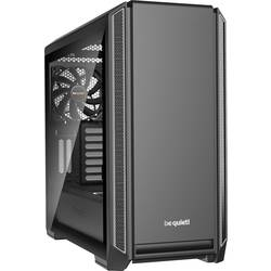 PC skrinka midi tower BeQuiet Silent Base 601, strieborná, čierna