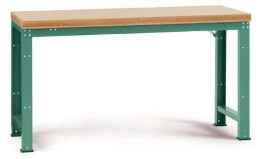 Manuflex WP3014.5007 Grund-Werkbank PROFI,1500x700 mm Pl. Multiplex 40mm RAL5007 brillantblau (B x H x T) 1500 x 840 x 700 mm