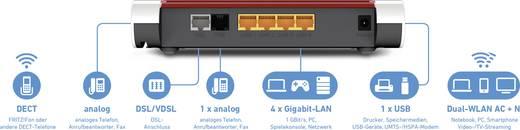 AVM FRITZ!Box 7530 International WLAN Router mit Modem Integriertes Modem: ADSL, VDSL 2.4 GHz, 5 GHz 1200 MBit/s