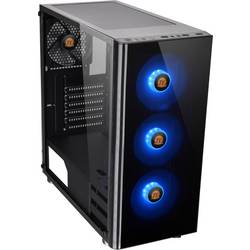 PC skrinka midi tower Thermaltake V200 Tempered Glass RGB, čierna