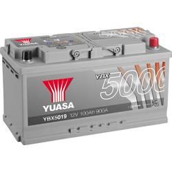 Image of Yuasa YBX5019 Autobatterie 12 V 100 Ah T1 Zellanlegung 0