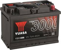 Image of Autobatterie Yuasa SMF YBX3096 12 V 75 Ah T1