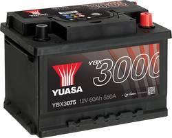 Image of Autobatterie Yuasa SMF YBX3075 12 V 60 Ah T1
