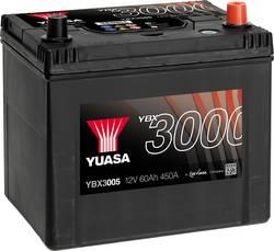 Image of Autobatterie Yuasa SMF YBX3005 12 V 60 Ah T1