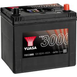 Image of Yuasa SMF YBX3005 Autobatterie 60 Ah T1 Zellanlegung 0