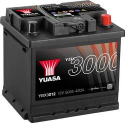 Image of Autobatterie Yuasa SMF YBX3012 12 V 50 Ah T1