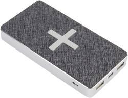 Bezdrátová indukční powerbanka Xtorm by A-Solar XW300, Qi standard, USB, USB-C™ zásuvka, bílošedá