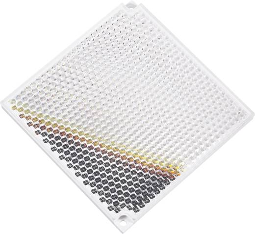 Reflektor für Lichtschranke Best.-Nr. 17 84 89 und 17 85 26. Idec Reflex-Prismenspiegel