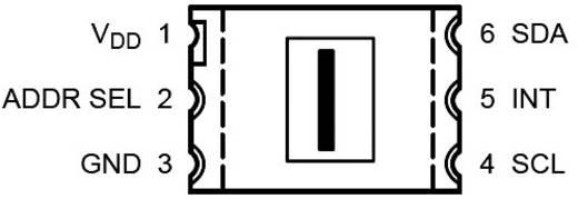 Lichtsensor Taos TSL 2561 D TMB-6 SMD 1 St. 2.7 - 3.6 V/DC (L x B x H) 3.8 x 2.6 x 1.35 mm