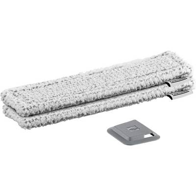 Kärcher WV Mikrofaserwischbezug Outdoor Fenstersauger Zubehör Weiß, Grau Preisvergleich