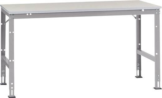 Arbeitstisch UNIVERSAL Standard Grundausführung AU4121.7035 (B x H x T) 2000 x 870 x 1000 mm Farbe: Licht-Grau