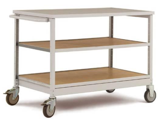 manuflex mobile werkbank mit 2 durchgehenden einlegeb den abdeckplatte multiplex. Black Bedroom Furniture Sets. Home Design Ideas