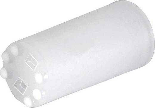 LED-Abstandshalter 1fach Transparent Passend für LED 5 mm 1c. Marke Richco LEDS2M-140-01