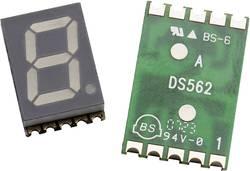 Afficheur 7 segments Broadcom HDSM-533F Nombre de chiffres: 1 jaune 14.22 mm 2.1 V 1 pc(s)