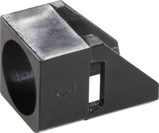 LED-Fassung Kunststoff Passend für LED 5 mm SnapIn Broadcom HLMP-5029