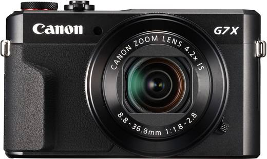 Canon PowerShot G7X Mark II Digitalkamera 20.9 Mio. Pixel Opt. Zoom: 4.2 x Schwarz Full HD Video, Klappbares Display, T