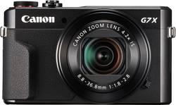 Image of Canon PowerShot G7X Mark II Digitalkamera 20.9 Mio. Pixel Opt. Zoom: 4.2 x Schwarz Full HD Video, Klappbares Display,