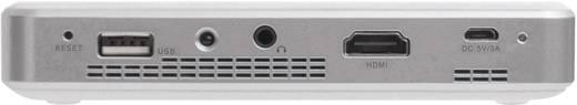 DLP Beamer Telefunken DLP300 Helligkeit: 300 lm 854 x 480 WVGA 300 : 1 Weiß