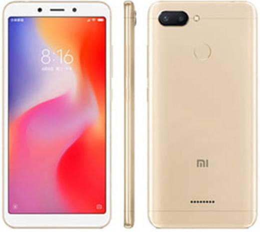 Xiaomi REDMI 6 DUAL 32 Smartphone Dual-SIM 32 GB 13.8 cm (5.45 Zoll) 12 Mio. Pixel, 5 Mio. Pixel Android™ 8.1 Oreo Gold