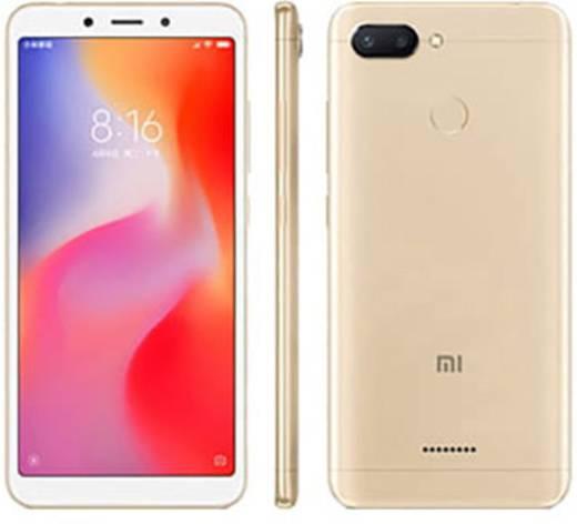 Xiaomi REDMI 6 DUAL 64 Smartphone Dual-SIM 64 GB 13.8 cm (5.45 Zoll) 12 Mio. Pixel, 5 Mio. Pixel Android™ 8.1 Oreo Gold