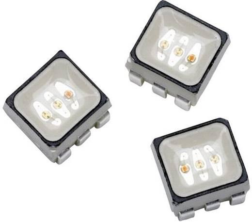 SMD-LED mehrfarbig PLCC6 RGB 745 mcd, 1600 mcd, 380 mcd 120 ° 20 mA, 20 mA, 20 mA 2.1 V, 3.2 V, 3.2 V Broadcom ASMT-YTB2