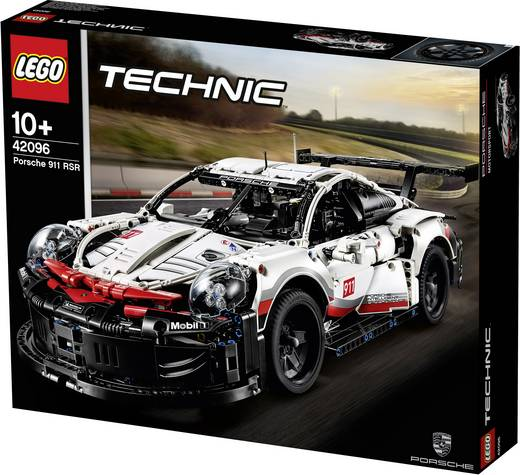 lego technic 42096 porsche 911 rsr. Black Bedroom Furniture Sets. Home Design Ideas