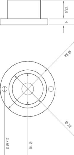 ledxon 9008105 HighPower-LED-Modul Gelb 1 W 60 lm 10 ° 2 V