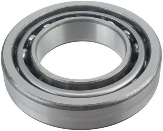 Schrägkugellager einreihig FAG 7307-B-TVP Bohrungs-Ø 35 mm Außen-Durchmesser 80 mm Drehzahl (max.) 10800 U/min