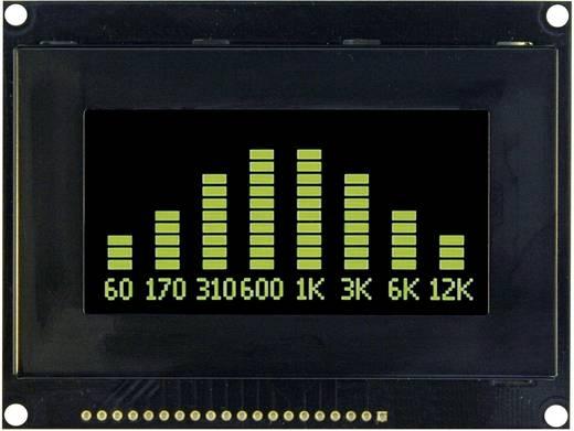 OLED-Display Grün Schwarz (B x H x T) 93 x 70 x 9.1 mm VGG12864L-S003