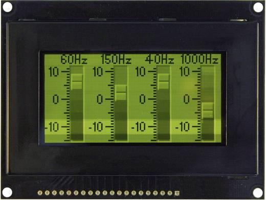 OLED-Display Grün Schwarz (B x H x T) 93 x 70 x 9.1 mm VGG12864Z-S003