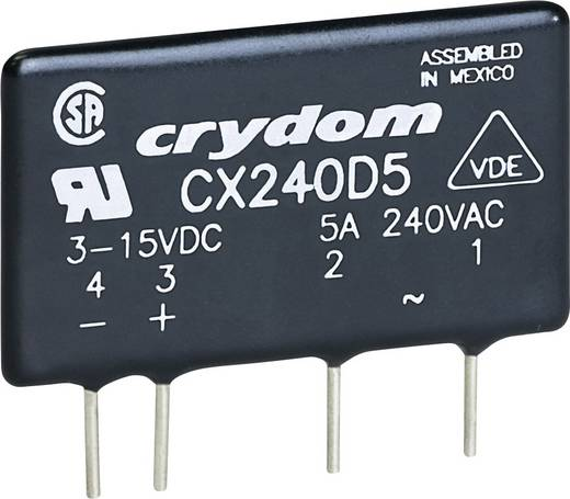 Crydom Halbleiterrelais 1 St. CXE240D5 Last-Strom (max.): 5 A Schaltspannung (max.): 280 V/AC Nullspannungsschaltend
