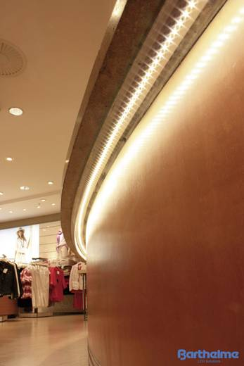 Barthelme LED-Streifen mit Lötanschluss 24 V 403.2 cm Warm-Weiß LEDlight flex 14 50403428