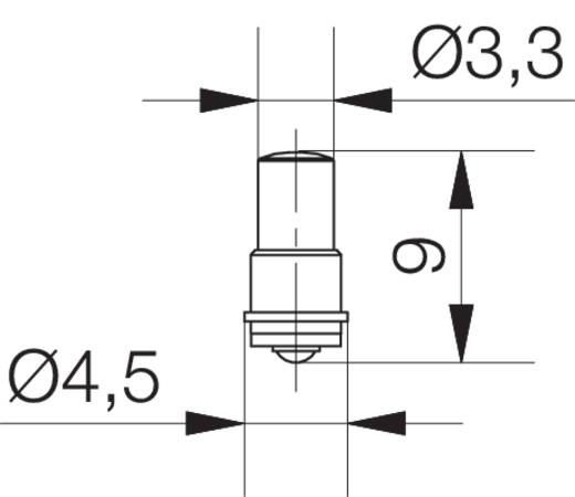 Signal Construct LED-Lampe MF/T 3/4, SX4s Rot 24 V/DC 150 mcd MWCF3504