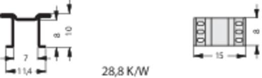 Kühlkörper 28.8 K/W (L x B x H) 8 x 15 x 10 mm D-PAK, LF-PAK Fischer Elektronik FK 250 10 LF PAK