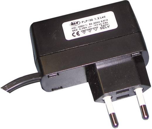 LED-Trafo, LED-Treiber Konstantspannung, Konstantstrom QLT PLP 106 0.35 A 24 V/DC nicht dimmbar, Möbelzulassung