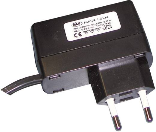 QLT PLP 106 LED-Trafo, LED-Treiber Konstantspannung, Konstantstrom 0.35 A 24 V/DC nicht dimmbar, Möbelzulassung
