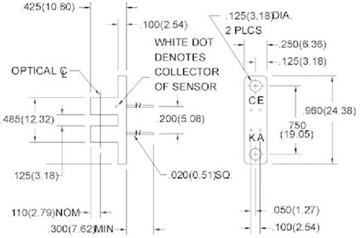 Gabel-Lichtschranke HOA1879-011 Honeywell 1 St.