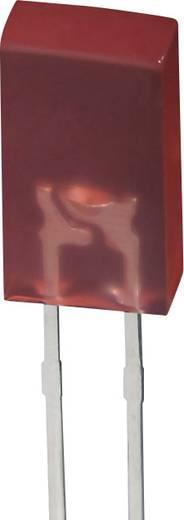 Vishay TLSR5100 = L383HDT LED bedrahtet Rot Rechteckig 2.5 x 5 mm 1.5 mcd 50 ° 20 mA 2 V