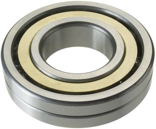 Vierpunktlager FAG QJ211-TVP-C3 Bohrungs-Ø 55 mm Außen-Durchmesser 100 mm Drehzahl (max.) 7000 U/min