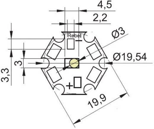 HighPower-LED Kalt-Weiß 80 lm, 145 lm 140 ° 350 mA, 700 mA Barthelme 61000815